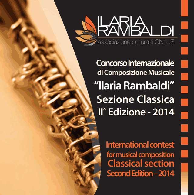 II^ ediz. Concorso Inter. Ilaria Rambaldi Sezione Classica 2014
