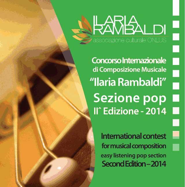Seconda Edizione Concorso Internazionale Ilaria Rambaldi Sezione Pop
