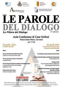 AltrEdizioni organizza la seconda edizione di Le Parole del Dialogo. Due giornate dedicate alla Filiera del Dialogo