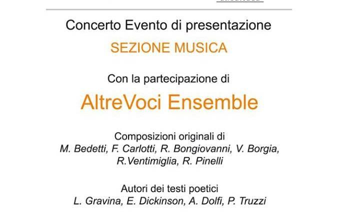 AltrEdizioni Casa Editrice in concerto con AltreVoci Ensemble alla Casa del Jazz a Roma