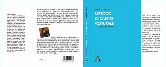 Copertina aperta - Metodo di Canto Posturale - Beatrice Sarti